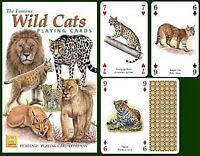 Wild Cats set of 52 playing cards + jokers (hpc)