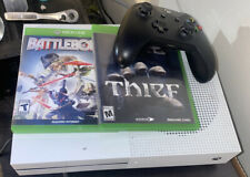 Microsoft Xbox One S (1681) 500 GB Slim White Console Bundle Games