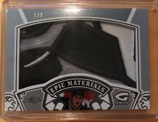 2015-16 Leaf Genesis Josh Mahura Platinum RC Jersey 3 Color Patch 1/3 Ducks