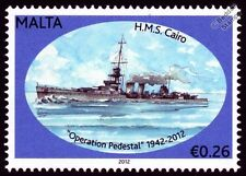 Maltese Boat & Nautical Postal Stamps