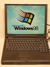 Gateway Solo Pro 9300 Windows 98 Laptop Computer Office 97 Word Excel Power Cord