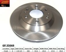 Disc Brake Rotor fits 2002-2004 Oldsmobile Bravada  BEST BRAKES USA