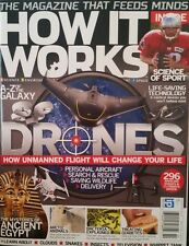 HOW IT WORKS Drones Bacteria Ancient Egypt Science of Sport 2015 FREE SHIPPING