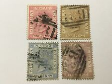 old stamps   SIERRA LEONE   x  4 QV