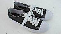 Mossimo Womens Black and White Sneakers Casual Shoe Size 10 EUC
