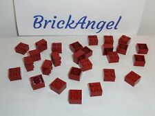 NEW LEGO X50 Dark Red 2X2 Bricks 3003 Building Parts