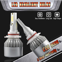 9006 LED Headlight Bulbs for Toyota Camry Corolla Highlander Sienna Low Beam Kit