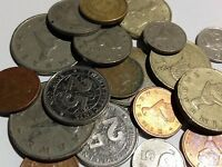100 Gramm Restmünzen/Umlaufmünzen Simbabwe