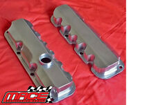 POLISHED ALUMINIUM ROCKER COVERS HOLDEN VS VT VX VU VY ECOTEC L36 L67 S/C 3.8 V6