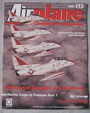 Airplane Issue 115 McDonnell Douglas A-4 Skyhawk cutaway & poster