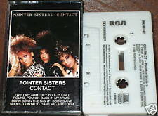 POINTER SISTERS CONTACT CASSETTE