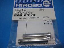 Original HIROBO Rotorkopf Blattlagerwelle 0404-607 FEATHERING SPINDLE