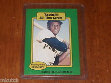 Dealer lot of (25) 1987 Hygrade All-Time Greats Roberto Clemente-Pirates-NM/MT