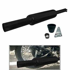 For Royal Enfield Mini Punjab Loud Silencer Classic,Standard 350/500 Black