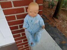 Vintage Berjusa Newborn Baby Boy Anatomically Correct Vinyl Doll Toy