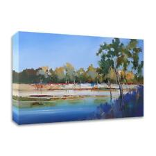 """15"""" x 25"""" Late Night The Murray 2 by Craig Trewin Penny Print on Canvas"""