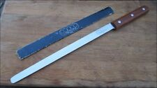 XXL Vintage COPCO Japanese Steel Chef Ham/Lox Flexible Slicing Knife RAZOR SHARP