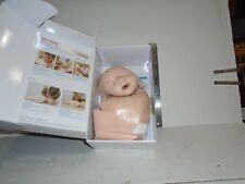 Infant CPR Dummy Anytime Kit Mannequin DVD Spare Lung Latex Free NIB