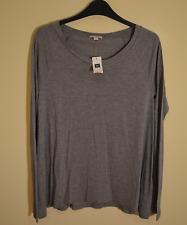 New! Gap women's grey long sleeve t-shirt - XS - viscose stretch soft top shirt
