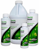 SEACHEM FLOURISH EXCEL ORGANIC CARBON BIOAVAILABLE FOR PLANTS AQUARIUM TANK