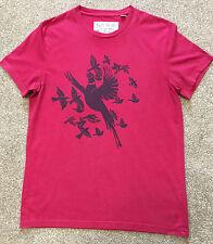 Preciosa Jack Wils Pájaro Diseño Impreso Camiseta S Pequeño Cereza