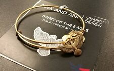 ALEX AND ANI SPIRIT OF THE EAGLE RUSSIAN GOLD BANGLE NEW