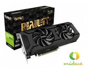 """BRAND NEW"" PALIT GEFORCE GTX1070TI DUAL 8GB GDDR5 256BIT DVI  3-DP HDM"