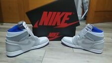 Nike Air Jordan 1 Retro High Zoom White Racer Blue, Talla 45, Originales.