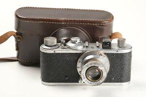 Leitz Leica Standard Nr. 329278, Elmar 3,5/5cm Nr. 500826, Tasche