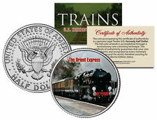 THE ORIENT EXPRESS TRAIN *Famous Trains* JFK Half Dollar Colorized US Coin