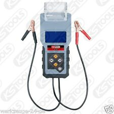 KS Tools 12V digital-batterietester con integrato STAMPANTE 550.1646 TESTER