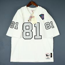 100% Authentic Tim Brown Mitchell & Ness Raiders NFL Jersey Size Mens 48 XL