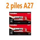 Pile A27 12V Camelion LR27A 27A MN27 GP27A alcaline 12 volts lot de 1 2 5 piles