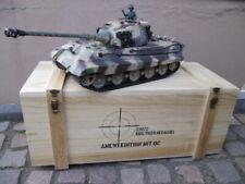 RC Panzer Königstiger Henschel 1:16 Platinum  Version 6.0s Metallfahrwerk u RRZ
