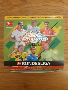 Topps Chrome Bundesliga Match Attax   CHOOSE YOUR CARDS   SEE PICTURES