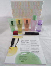 Clinique 7 Piece Travel Size Set Gift Box Dry to Combination Skin Types 1 2 Lip