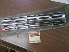 NOS Yamaha Exhaust Muffler Protector 2 1970 CS3 1967 1968 YCS1 194-14728-30