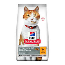 Hills Science Plan Sterilised Cat Young Adult Weight Management Dry Food Chicken