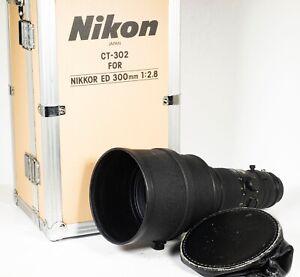 Nikon Nikkor ED 300mm F2.8 Manual Focus Telephoto Camera Lens