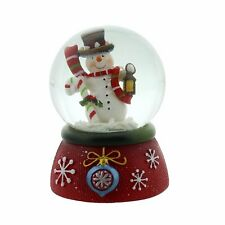 Hand painted snowman waterball dome globe Christmas Decoration XM2282