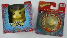 Pokémon Set: Pikachu Figur & Enton Power Flummi OVP
