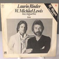 """Rinder & Lewis – Envy (Animal Fire) Original UK 1978 Vinyl 12""""  NMint  UNPLAYED"""