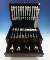 Strasbourg by Gorham Sterling Silver Flatware Place Size Set 12 Service 54 Pcs