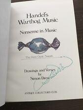Simon Drew - Handel's Warthog Music - Signed Copy