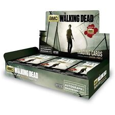 The Walking Dead Season 4 Part 2 Trading Cards Box (Cryptozoic 2016) *******