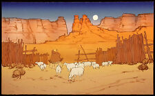 "Katalin Ehling ""Navajo Twilight"" Hand Signed Lithograph Artwork SUBMIT AN OFFER!"