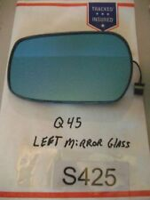1999 Infiniti Q45 Left Driver side Mirror HEATED Glass FREE SHIPPING OEM#S425+