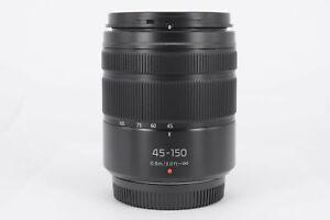 Panasonic 45-150mm f/4-5.6 Matt Black Lens  - Virtually Mint Condition - Ex-D...