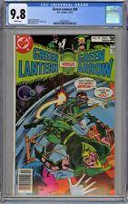 Green Lantern #99 CGC 9.8 NM/MT Wp Vs. Green Arrow DC Comics 1977 Mike Grell Art