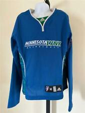 Neuf Minnesota Lynx Filles Jeunes Taille M Bleu Adidas T-Shirt
